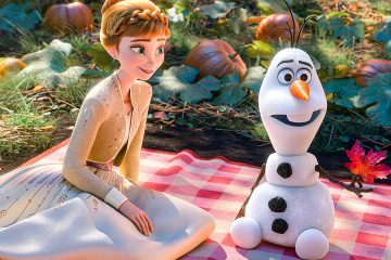 אולף מביע חרדה ודאגה ואנה מרגיעה אותו בשוברים את הקרח